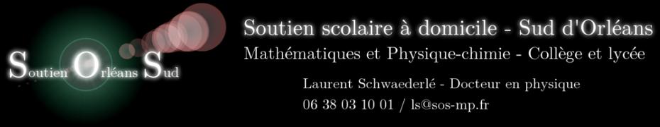 Soutien scolaire Orléans Sud