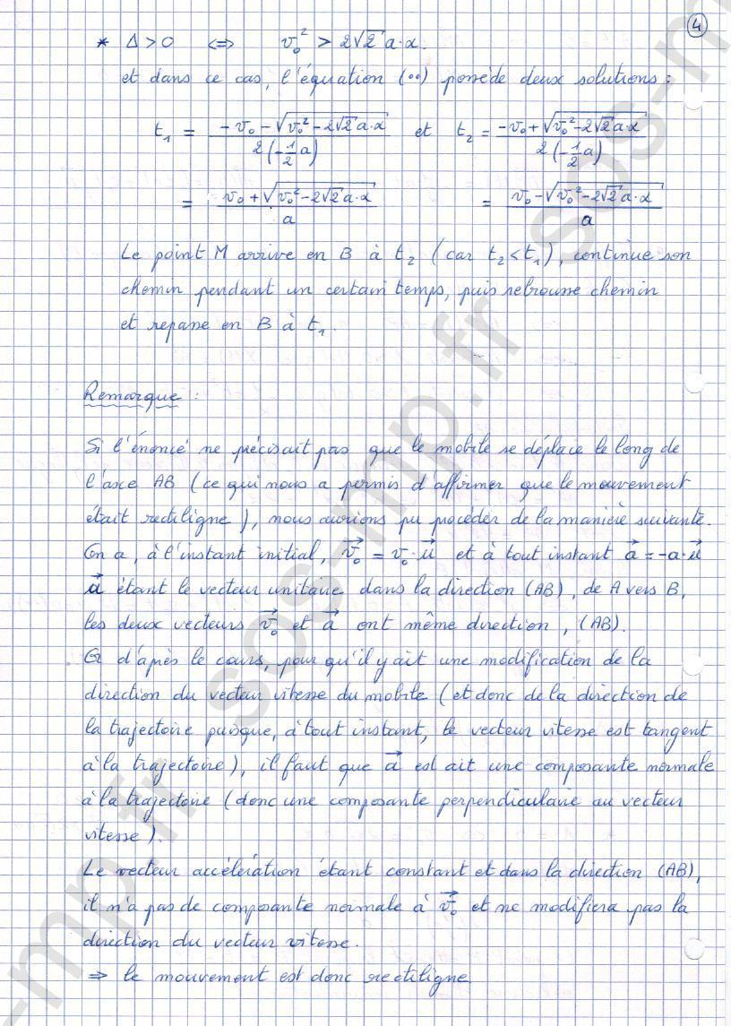 sos-mp.fr - Mécanique - Mouvement rectiligne uniformément accéléré - Exo2-4