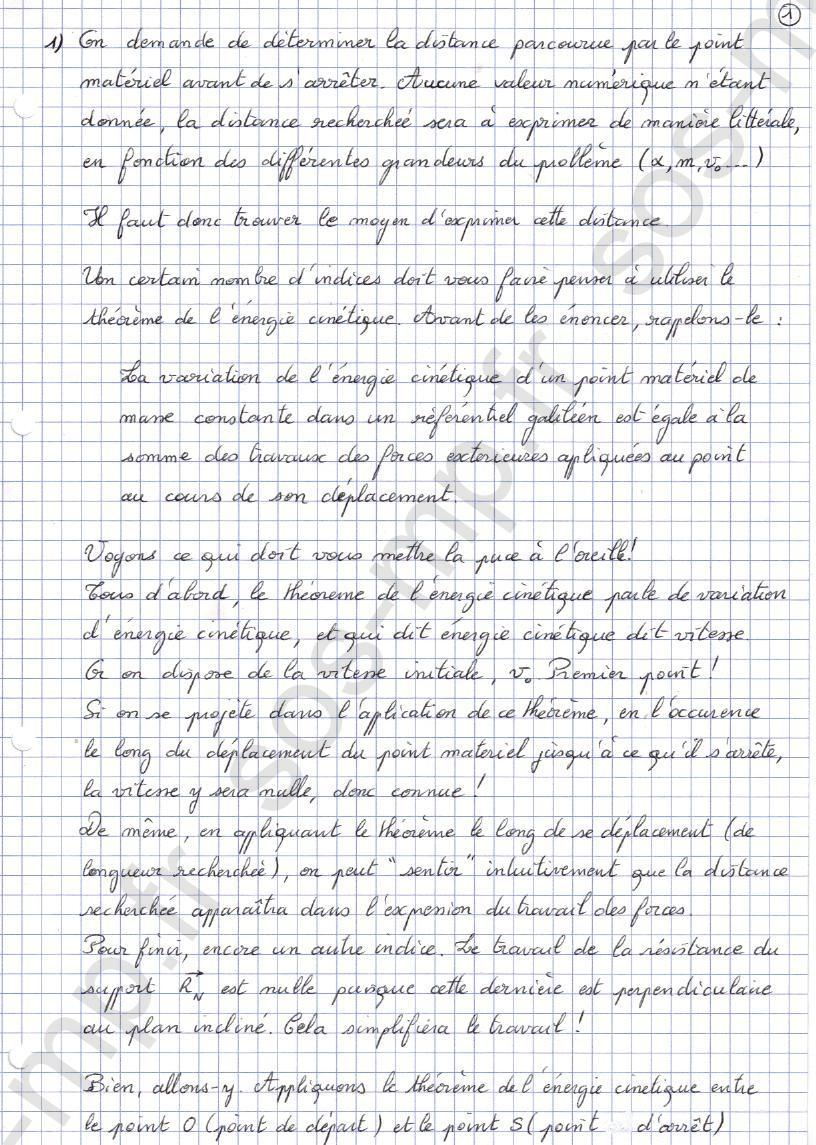 sos-mp.fr - Mécanique - Distance d'arrêt - Exo3-1
