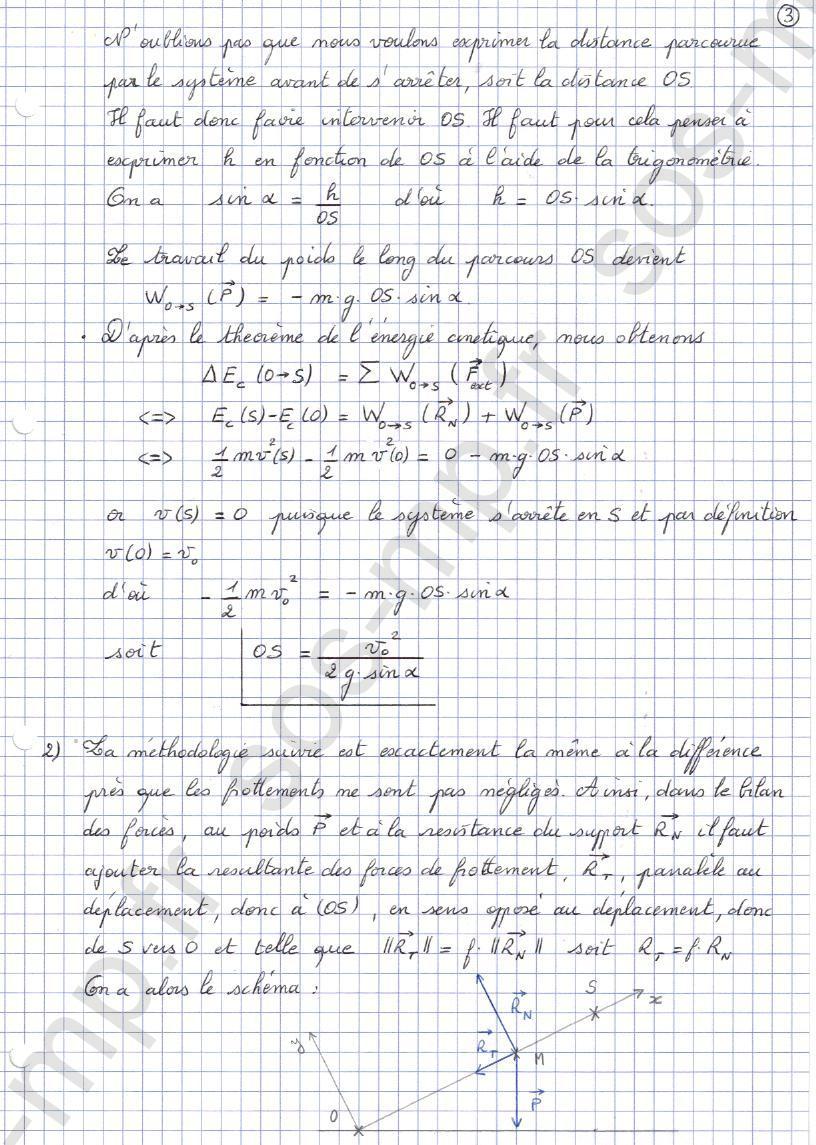 sos-mp.fr - Mécanique - Distance d'arrêt - Exo3-3