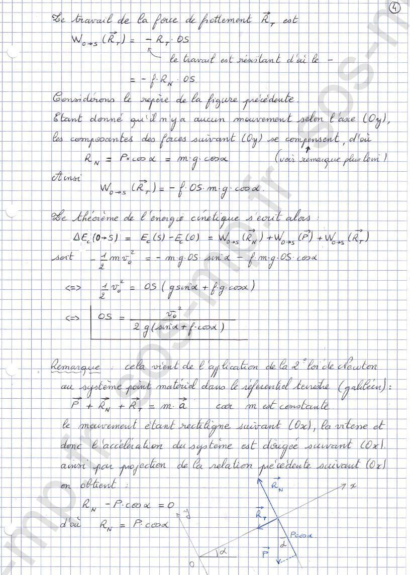 sos-mp.fr - Mécanique - Distance d'arrêt - Exo3-4