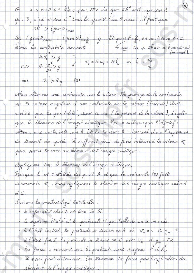 sos-mp.fr - Mécanique - Condition de contact - Exo8-4