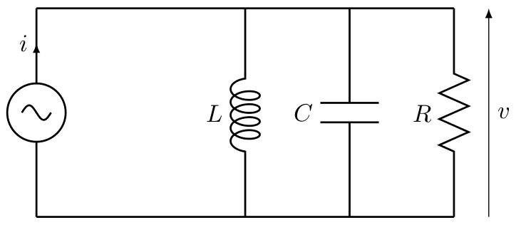 sos-mp.fr - BCPST2 - Électricité - Résonance en tension-Circuit RLC parallèle - Ex8 - schéma1