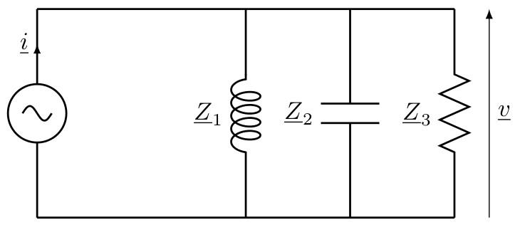 sos-mp.fr - BCPST2 - Électricité - Résonance en tension-Circuit RLC parallèle - Ex8 - schéma2